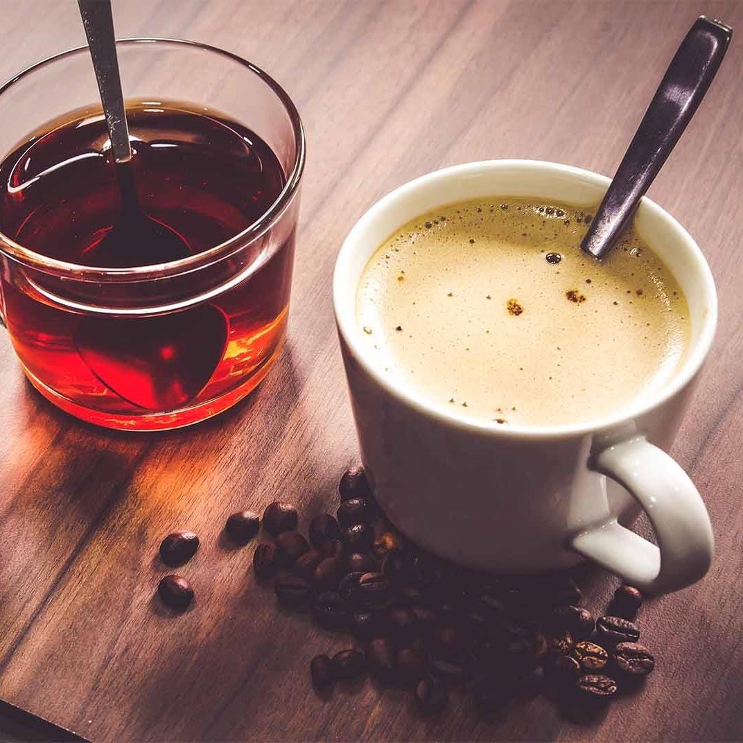 Чайная и кофейная станции